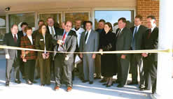 Credit Union Service Center in Yorktown - Ribbon-cutting ceremony